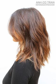 15 half-length hairstyles that you can certainly be seen with 15 halflange kapsels waarmee jij zeker weten gezien kunt worden – Farbige Haare Onbre Hair, New Hair, Medium Hair Styles, Short Hair Styles, Hair Color And Cut, Hair Colour, Shoulder Length Hair, Great Hair, Hair Today