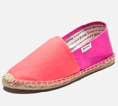 98ea401bcbc Coral and Pink Soludos J Crew Summer, Buy Shoes, Salmon, Color Blocking,