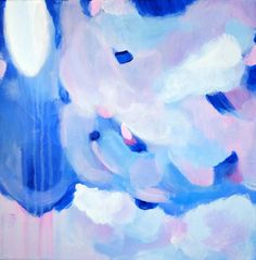 Abstract Acrylic Painting Perwinkle by AliceLoArt on Etsy Let's Make Art, Blue Abstract Painting, Alice, Handmade Gifts, Vintage, Etsy, Log Projects, Kid Craft Gifts, Craft Gifts