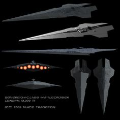 Starship Profile: Sovereign-Class Super-Star Battlecruiser by Vince-T.deviantart.com on @DeviantArt