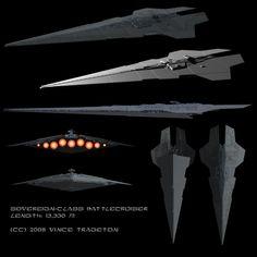 Starship Profile: Sovereign-Class Super-Star Battlecruiser by Vince-T.deviantart.com on @DeviantArt