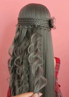 100 Amazing hairstyle compilation Beautiful hair stylish tutorials Part, Amazing Beautiful. : 100 Amazing hairstyle compilation Beautiful hair stylish tutorials Part, Amazing Beautiful Compilation hair Hairstyle hairstylesuelto part Stylish Tutorials A Easy Hairstyles For Long Hair, Braids For Long Hair, Pretty Hairstyles, Girl Hairstyles, Braided Hairstyles, Elvish Hairstyles, Renaissance Hairstyles, Amazing Hairstyles, Hairstyles Videos