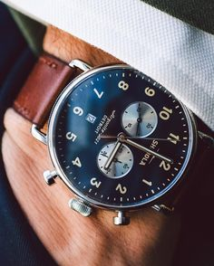 """GQ on Instagram  """" Shinola s newest watch is perfect for guys who want  something eye-catching, but not too complicated. Check out more at the link  in bio. fd9dd7e0c90a"""