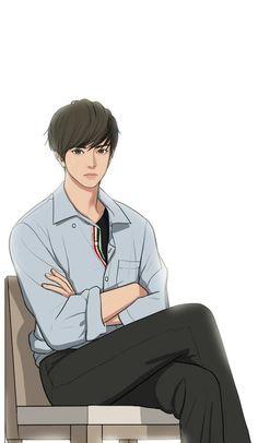 Cogan baru Line Webtoon 'Lee Suho' The secret of Angel