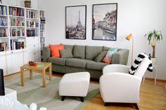 Sisätiloissa: Sohvapöydän värimuutos