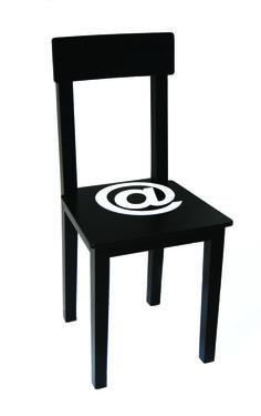 Silla -  #Silla #sedia #legno #rosso #nero #bianco #sostenibile #grafica #arredo #chair #wood #red #black #white #sustainable #graphic #furniture #homedecor #design #madeinitaly