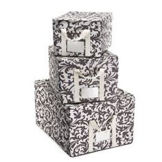 The Container Store > Baroque Fabric Storage Boxes