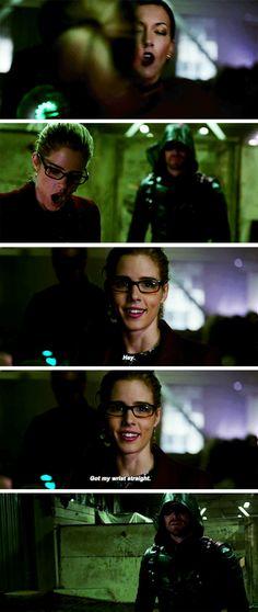 Hey pumpkin! #Arrow #Season5 #5x10