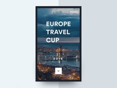 Europe travel cup 03