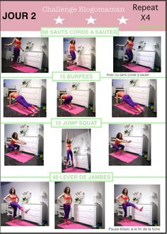 programme fitness jour 10 blogobody gym at home exercices abdo pinterest. Black Bedroom Furniture Sets. Home Design Ideas