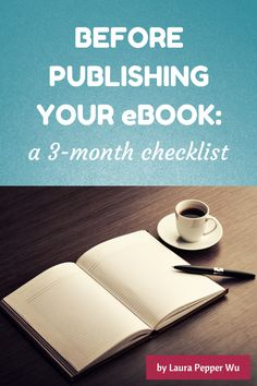Before Publishing Your eBook - new book cover!