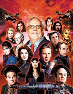 Babylon 5 Artist Print sold by Joe Corroney Art Store. Shop more products from Joe Corroney Art Store on Storenvy, the home of independent small businesses all over the world. Sci Fi Tv Series, Sci Fi Tv Shows, Bruce Boxleitner, Best Sci Fi, Babylon 5, Sci Fi Movies, Movie Tv, Movie Facts, Story Arc