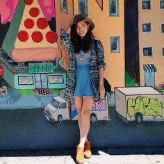 summer 2014 Jenn Im, Summer 2014, Brandy Melville, Ootd, Style Inspiration, Instagram Posts, Skirts, How To Wear, Future