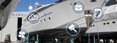 #Portomirabello #shipyard total care for #yachts and #superyachts