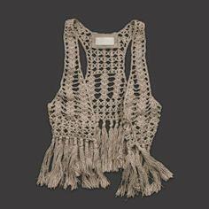 CROCHE DA ANJINHA: Coletes em croche,achados na net