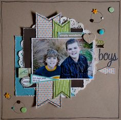 Our Boys - Scrapbook.com