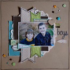 Our Boys - Scrapbook.com