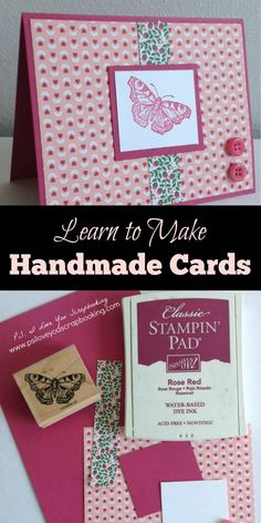 Creating Handmade Cards is a fun hobby. This article will explain the tools and techniques needed to get started making your own greeting cards.