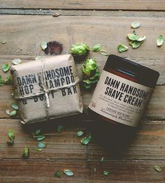 hops shampoo & shave set