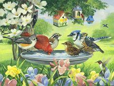 Oiseaux de Linda Picken