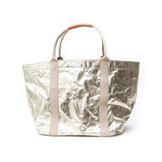 Uashmama Oversized Tote Bag Platinum - The Future Kept - 1