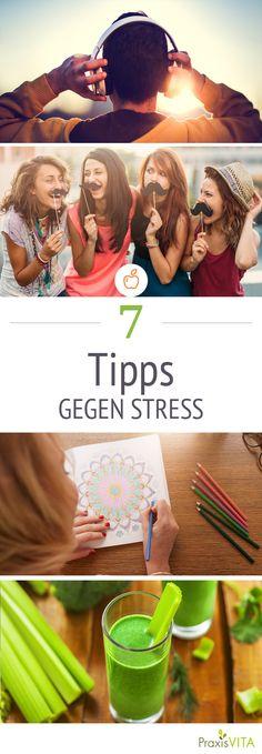 Stress bremst uns aus und kann sogar krank machen. Unsere Bildergalerie zeigt Ihnen 7 einfache Maßnahmen zur Stressbewältigung.