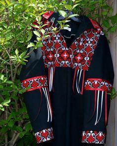 Items similar to Made to Order Contemporary Native American Style Ribbon Shirt on Etsy Native American Models, Native American Clothing, Native American Regalia, Native American Fashion, Native Fashion, Jingle Dress, Native Wears, Ribbon Skirts, Native Style