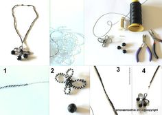 My DIY black necklace ! By @The Mora Smoothie