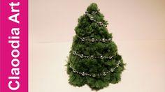 Vánoční strom s pompoms