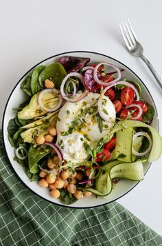 Clean Eating, Healthy Eating, Weight Watchers Meals, Vegetable Pizza, Pasta Salad, Potato Salad, Food And Drink, Lunch, Healthy Recipes