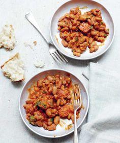 Luštěniny jsou báječná věc! Chorizo, Chana Masala, Ethnic Recipes, Food, Essen, Yemek, Eten, Meals