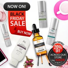 We've got 20% off all of our products right now for #BlackFriday lasting all weekend and ending on #CyberMonday! USE CODE: HLSALE20 #phlnaturals #antiaging #beauty #skincare #natural #cosmetics #lookyoung #feelgreat #aloevera
