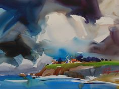 Watercolor Artist Frank Francese, NWS: Watercolor Paintings 2013
