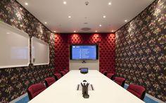 'Flower power' boardroom | Google's London headquarters