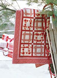 Candy Cane Quilt  # Handi Quilter