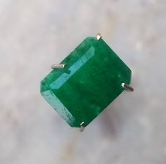 Natural Emerald Certified 2.25 Ct Zambian Stone Green Color Small Size Octagon Faceted Excellent High Cut Grade Top Quality Loose Gemstone by bilalGems8 on Etsy