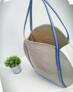 Faire un panier tendance rond rafiat set de table rond été cousu main handmade couture sac iris sezane monblabladefille.com