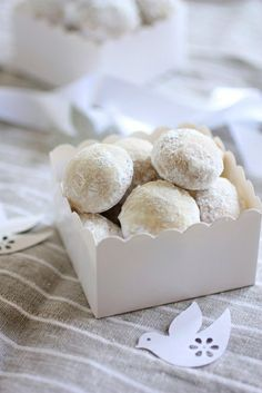 Italian Wedding Cookie - They make their appearance at Bridal Showers, Baby Showers, and during the Christmas Holidays. They are easy to make and only require a few ingredients. The key to this recipe is using an unsalted European style butter and a really good vanilla extract.