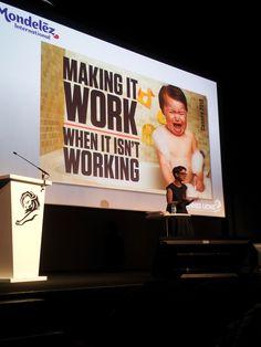 """Dana Anderson of #Mondolez -- """"Making It Work When It Isn't Working"""""""