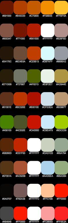 Constructivism Color Scheme, not sure on acruacy but looks about right