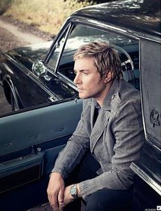 Simon LeBon for James fashion 2009....I was sooo in love with him when I was a teenager!! :)