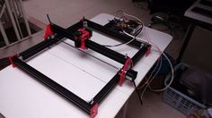 This machine is designed to make the laser engrave in wood and opaque plastic, having an Arduino and the GRBL as machine automation basis. The machine axis are just...