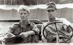 David Bowie & Ryuichi Sakamoto in Merry Christmas Mr. Lawrence [1983]