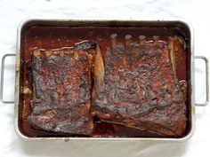 Slow-cooked #ribs oven roasted with #smoked #paprika. Marinate with a #spice #mix before slow-roasting