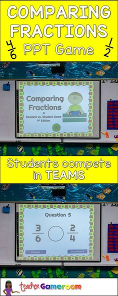 31 Best Comparing Fractions images in 2019 | Teaching
