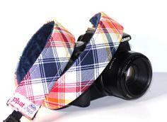 Tartan Camera Strap  DSLR Camera Strap  Swanky by PhatStraps, $37.95