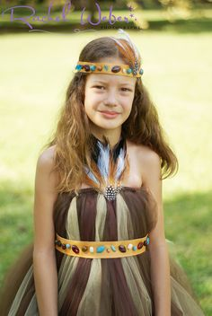 Native American Princess Costume (make in pink for Brynna, fairy costume)