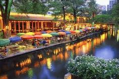 18) Texas - San Antonio River Walk - My husband & I joined the millions of people who visit the River Walk each year to enjoy this unusual urban sanctuary that winds along the San Antonio river in central San Antonio, one story below the bustling street level. The lush landscapes, quaint pathways, cruises along the river and fabulous outdoor restaurants are worth the visit.  A very Romantic getaway :0)  Don't forget to cross the street and visit the Alamo. Take the tour for amazing stories.