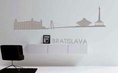 Nálepky na stenu s názvami hlavných miest a svetových metropol sa hodia do každého moderného interiéru. Už od 9,99 eur ...