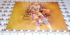 Magic Johnson LAKERS autograph 8x10 COA Memorabilia Lane & Promotions